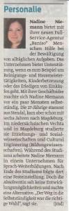 Volksstimme, 21.10.2014